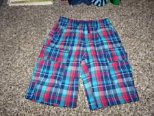 NWOT NEW BOUTIQUE TEA COLLECTION BOYS SHORTS 5 PLAID