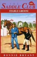 Stable Groom (Saddle Club)-ExLibrary