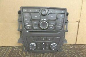 12-17 Buick Verano Radio Climate Control Panel Faceplate Center Dash 22945172