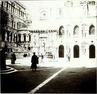 ITALIE Venise Cathédrale c1900, Photo Stereo Grande Plaque Verre VR9L7n3
