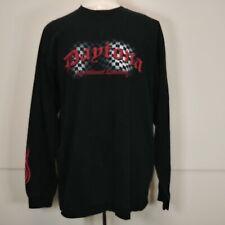 Daytona International Speedway Shirt Pullover Long Sleeve w/ Flames XL Vintage