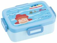 Skater 4 Point Lock Lunch Box 650ml Ponyo On A Cliff Made in Japan YZFL7