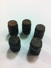 Legendary Realms Terrain - Accessory - Barrel, Closed - Set of 5