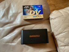 Duracell Dr-11 Camcorder Rechargable Battery Untested and JVC Mini Dv Cassette