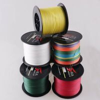 11 Colors 6LB-100LB Dyneema PE Braided Fishing Line 100M-2000M Dorisea
