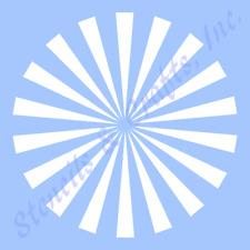 """10.5"""" Starburst Stencil Stencils Template Paint Art Pattern Background Craft New"""
