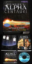 SID MEIER'S ALPHA CENTAURI Pc Versione Ufficiale Italiana Big Box ••••• COMPLETO