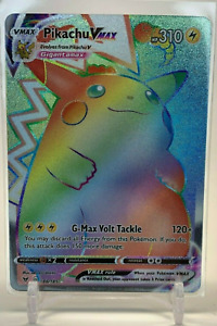 Pokemon fatpack Pikachu VMax 188/185 Full Art Vivid Voltage Secret Rare Fatpack