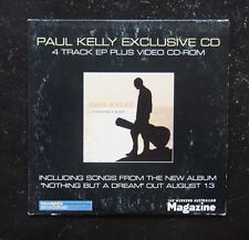CD - Paul Kelly, Nothing But a Dream - Exclusive 4Track EP + CD-ROM -EMI CORP637