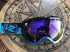 VON ZIPPER VZ Multi Colored Lens Used Once Ski/Boarding Winter Goggles