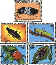 Mali 648-652 (kompl.Ausgabe) gestempelt 1978 Insekten EUR 2,60