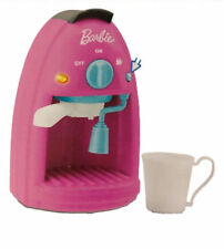 BARBIE,ESPRESSO COFFEE MAKER KITCHEN PLAYSET,W/ LIGHT,SOUNDS & MUSIC,KIDS 3+NEW