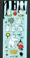 Moomin Stickers Sticker Sheets lot Kawaii Look Rare Little My Snorkmaiden D