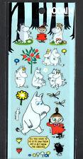 Moomin Stickers Sticker Sheets lot Kawaii Look Rare Little My Snorkmaiden D