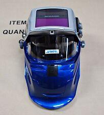NEW SERVORE Flip Up BLUE Auto Lift Auto Darkening Welding Helmet Shade #9-13