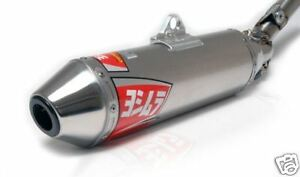 Yoshimura RS 2 Full Exhaust Pipe System Stainless Suzuki LTZ400 LTZ 400 03-14