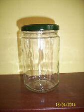 GLASS JARS 314ml FOR JAM, HONEY, MARMALADE AND CHUTNEY MAKING X 24