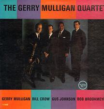 GERRY MULLIGAN QUARTET - SAME (1962 US VERVE JAZZ VINYL LP)