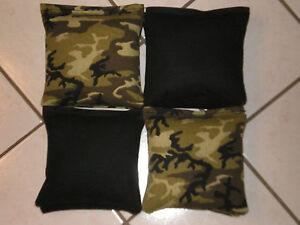 Quality Cornhole Bags, corn hole Regulation! Camouflage Set of 8