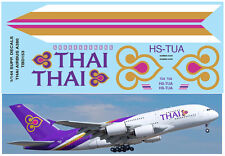 1/144  AIRBUS A 380 THAI AIRWAYS LIVERY REVELL DECALS TB DECAL TBD153
