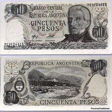 ARGENTINE billet neuf 50 PESOS BELGRANO Pick301b  AVEC FILAMENTS COLORES