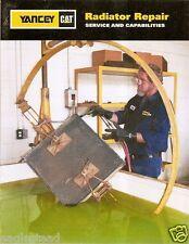 Equipment Brochure - Caterpillar - Yancey Lubricant Radiator Maintenance (E1022)