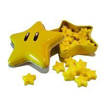 """Super Mario Brothers Boîte de bonbons étoiles """"Super Star Candy"""" neu"""