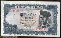 500 Pesetas 1971 Jacinto Verdaguer  @@ Sin Circular @@