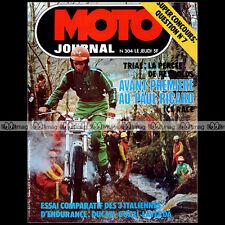 MOTO JOURNAL N°304 MONOTRACE GARELLI STORY YAMAHA DTF 125 NARCISO CASAS '77