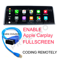 BMW EVO Carplay fullscreen activation + VIM + Android Screen-mirroring via ENET