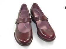 GR8 Women's Dansko Adelle Wine Leather wedge,mary janes Sz EU 41 US 10.5-11 $150