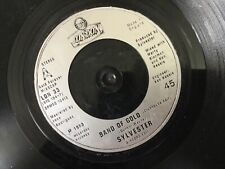 """Sylvester- Band of Gold- London Records 7"""" 1983"""
