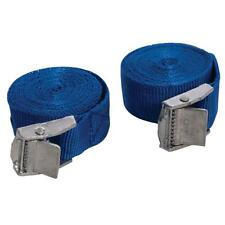 PACK OF 2 CAM BUCKLE TIE DOWN STRAPS ROOF RACKS TRAILERS 25 X 2500 MM LONG
