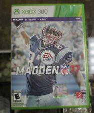 Madden 17- Xbox 360 game
