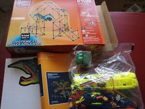 New Sealed Knex k'nex thrill rides Dinosaur Drop Building Rollercoaster 28041
