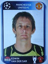 Panini 142 Edwin van der Sar Manchester United UEFA CL 2010/11