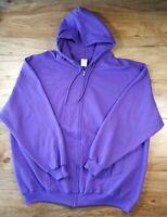 Port & Company Men's Full Zip Hoodie Sweater Core Fleece Size 4XL YKK