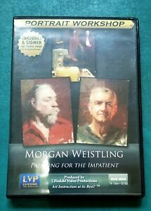 Morgan Weistling Painting for the Impatient Art Instruction 2 DVD Set + Signed P