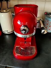 NESPRESSO KITCHENAID COFFEE MACHINE POD CAPSULE CANDY RED COMPLETE