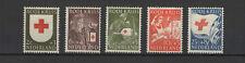 Pays-Bas 1953 au profit de la Croix-Rouge 5 timbres neufs /T2210