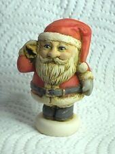 Harmony Kingdom Art Neil Eyre Designs Christmas Jolly Santa mini handmade Usa Le