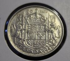 1947 50 cents Canada curved 7 a nice coin