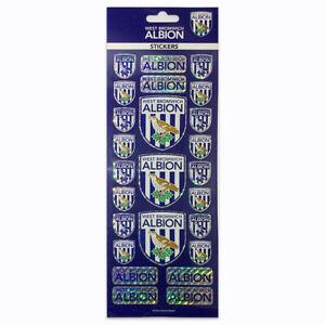 West Bromwich Albion Stickers Crest WBA-STK001