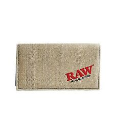 RAW Hemp King Size Smokers Wallet - UK Seller