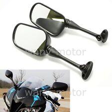 Dual Motorcycle Side Mirrors for Cruiser Honda CBR 600RR 03-16 CBR1000RR 04-08