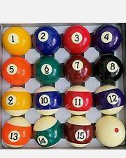 "New listing BILIYARD Pool Balls Set 2-1/4""Billiard Table Balls Regulation Size, Complete Set"