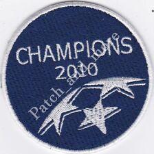 [Patch] UEFA CHAMPIONS LEAGUE 2010 diametro cm 7,5 toppa ricamo REPLICA -1033