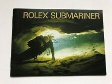 Pre-owned original Rolex Submariner Manual Booklet REF 594.52 English