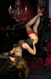 Ballerina 502 Raspberry Hold Ups Thigh-Highs European hosiery Luxury