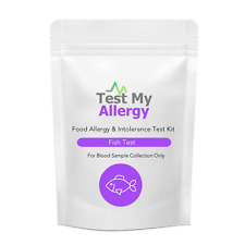 Test My Allergy - Pesce & Crustaceans Cibo Intolleranza Test Kit